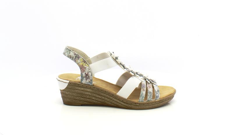 Sandale À Compensé Femme Sandales Rieker Talon UVzpSM